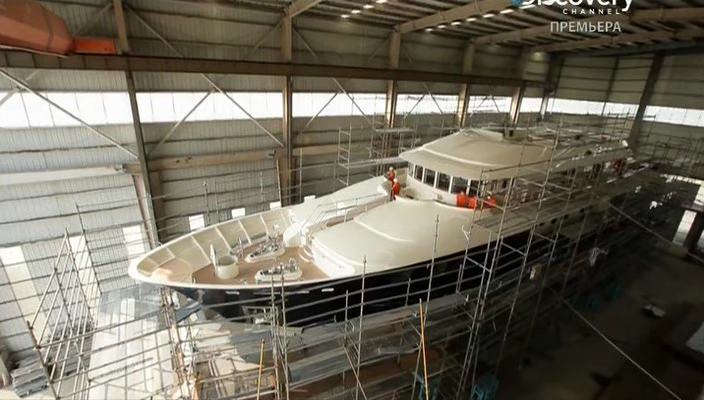 Discovery: Супер яхты / Discovery: Superyachts (1 сезон: 1-6 серии из 6) (2012) SATRip